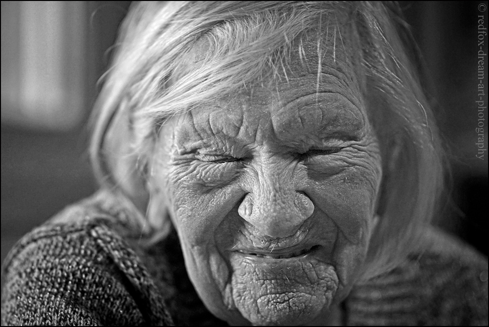 Ma grand-mère, 103 ans