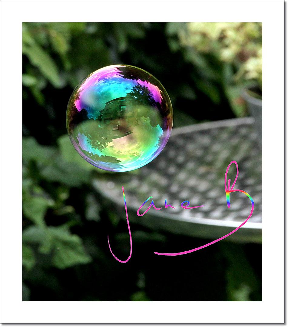 ma maison dans la bulle