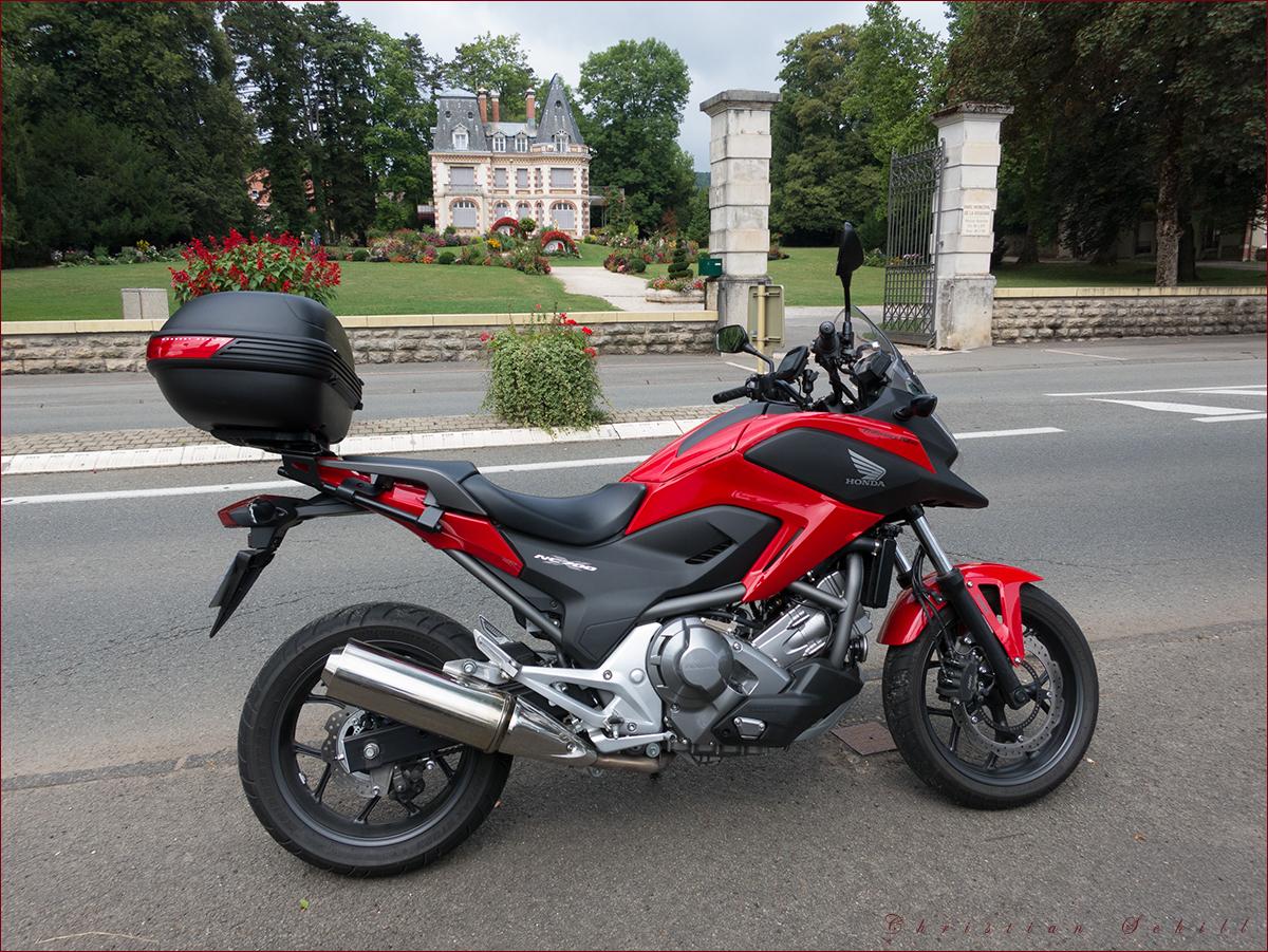 Ma moto - mein Motorrad ..
