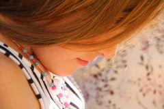 ..Ma petite fille, en pleine lecture..