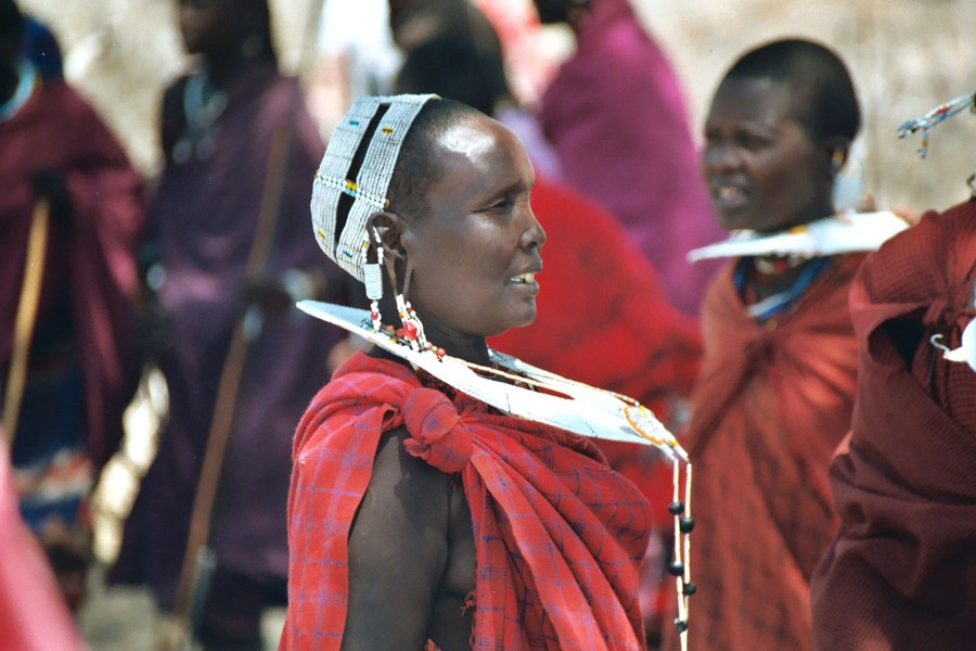 Maasai-Dorf