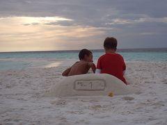 Macchinina di sabbia... assolutamente ecologica