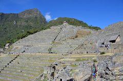 Machu Picchu, die alte Inka-Stadt in Peru