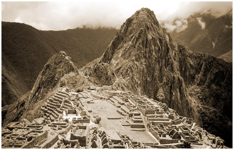 Machu Picchu - die übliche Ansicht...