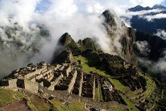 Machu Picchu - kurz nach dem Sonnenaufgang