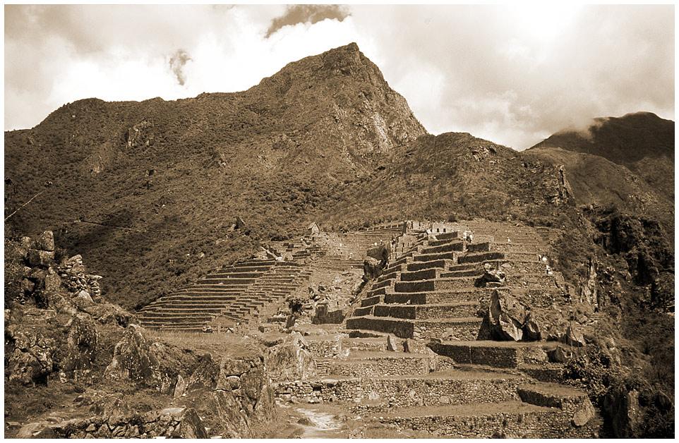 Machu Picchu - mal andersrum... (2)