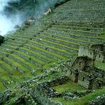 Machu Picchu nach dem Regen