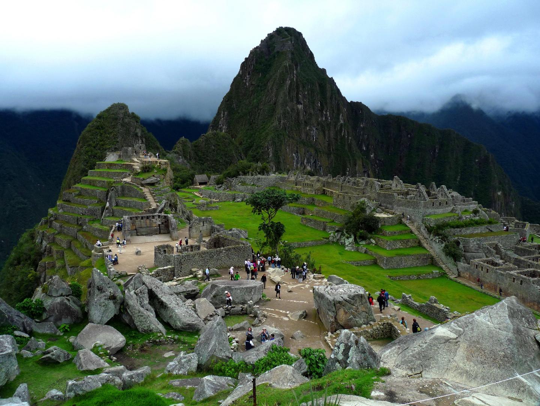 Machu Picchu u. Huayna Picchu