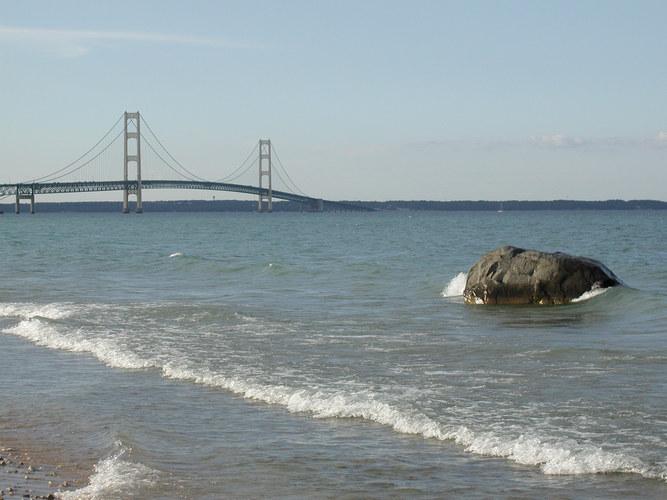 Mackinaw Bridge, Michigan USA