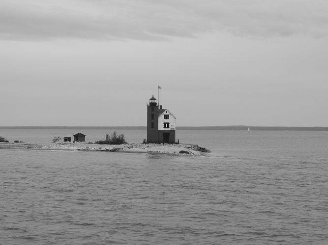 Mackinaw Island Light House Michigan USA