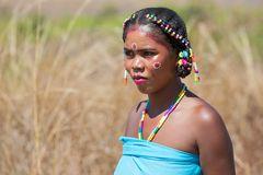 Madagaskar beauty lady