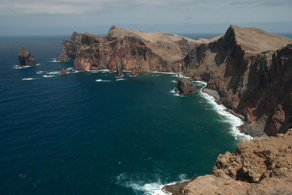 Madeira Steilküste Pedra Furada