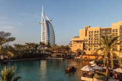 Madinat Jumeirah and Burj Al Arab