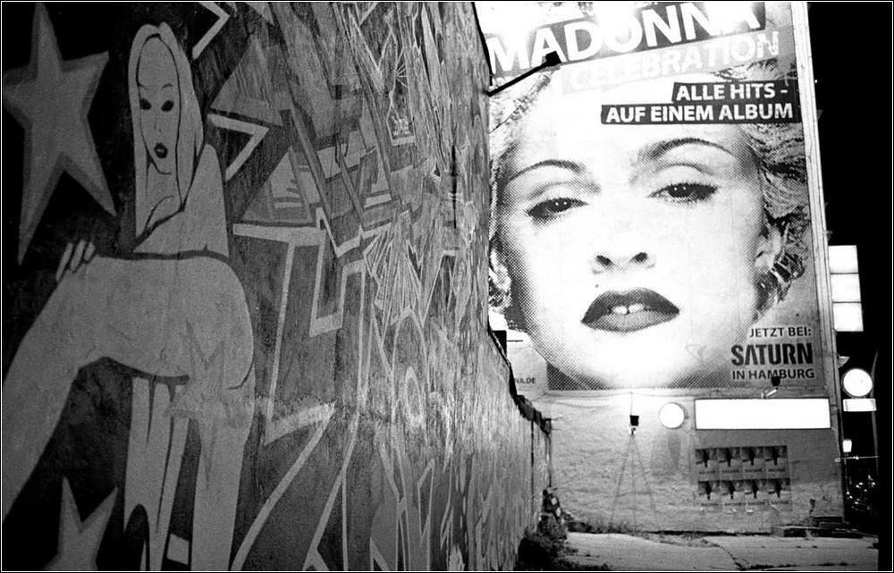 Madonna auf der Reeperbahn