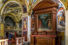 Madonna del Sasso - Blick auf die Orgel