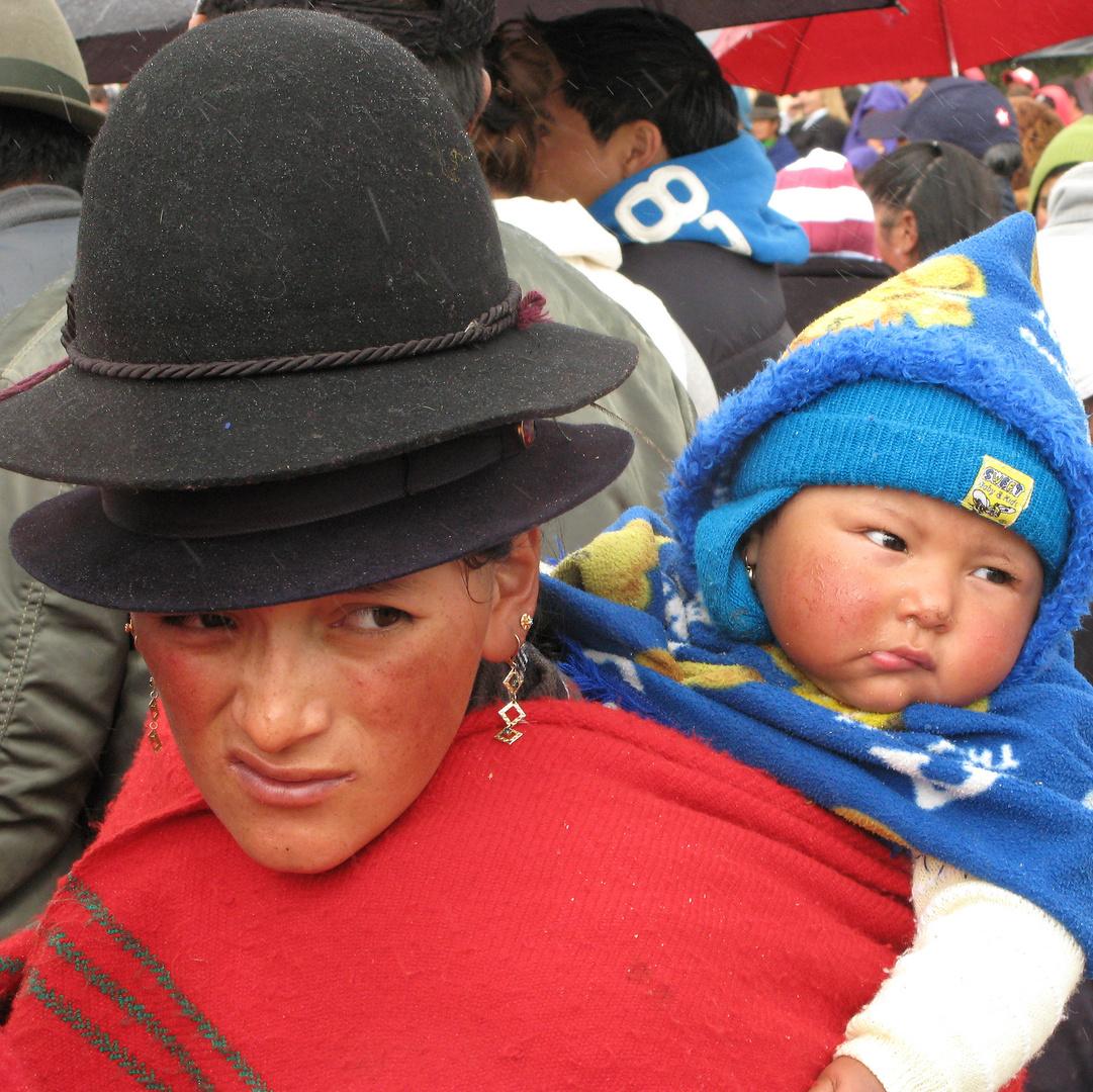 Madonna mit den Hüten
