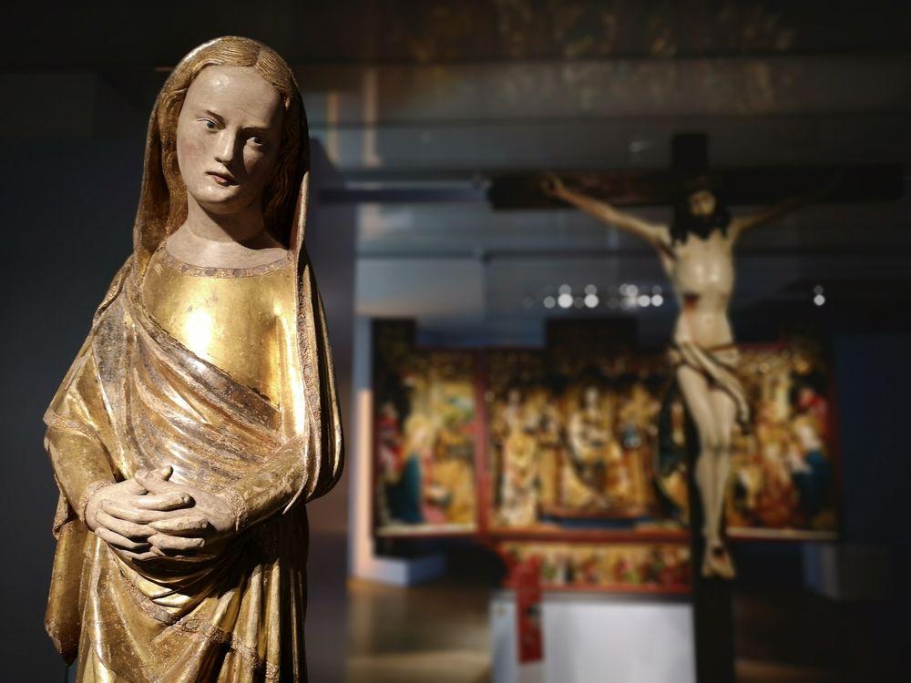 Madonnenfigur Museum P20-19-col