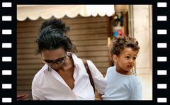 Madre e figlio, abitanti di Verona.