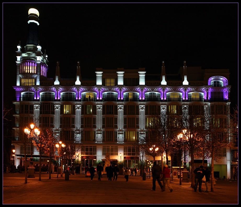 Madrid bei Nacht (II)