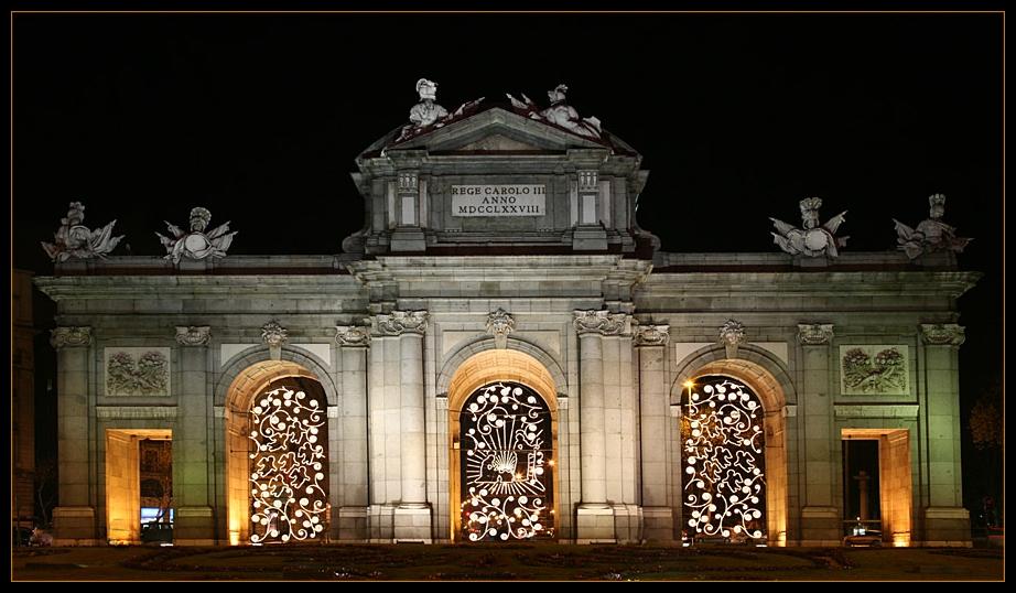 Madrid bei Nacht (III)
