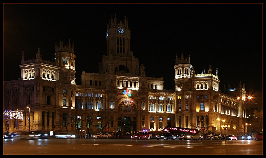 Madrid bei Nacht (IV) - Die Post