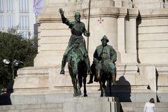 Madrid, Denkmal El Escorial am Plaza de Espana