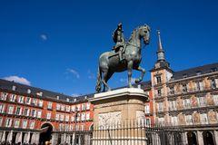 Madrid, Reiterstatue König Philipp III