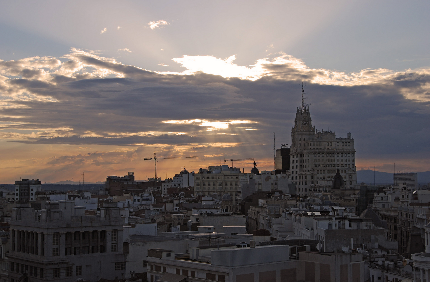 Madrid y el cielo