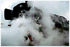 Mächtig unter Dampf...