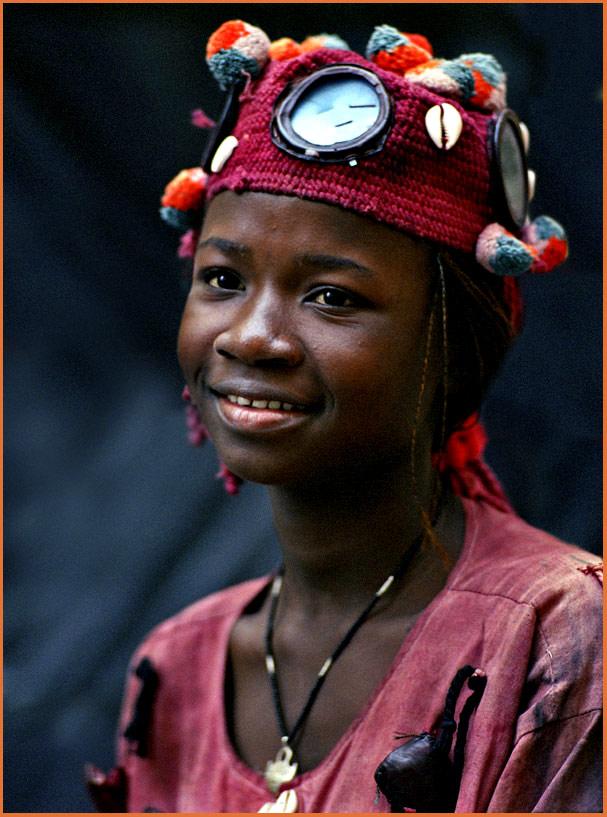 Mädchen aus Burkina Faso (Afrika)