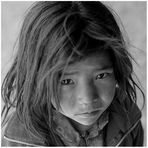 Mädchen aus Dankhar, Spiti, Indischer Himalaya 03