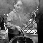 Mädchen aus der Mongolei