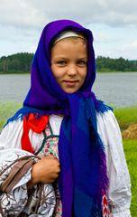 Mädchen aus Karelien