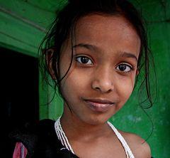 Mädchen aus Varanasi