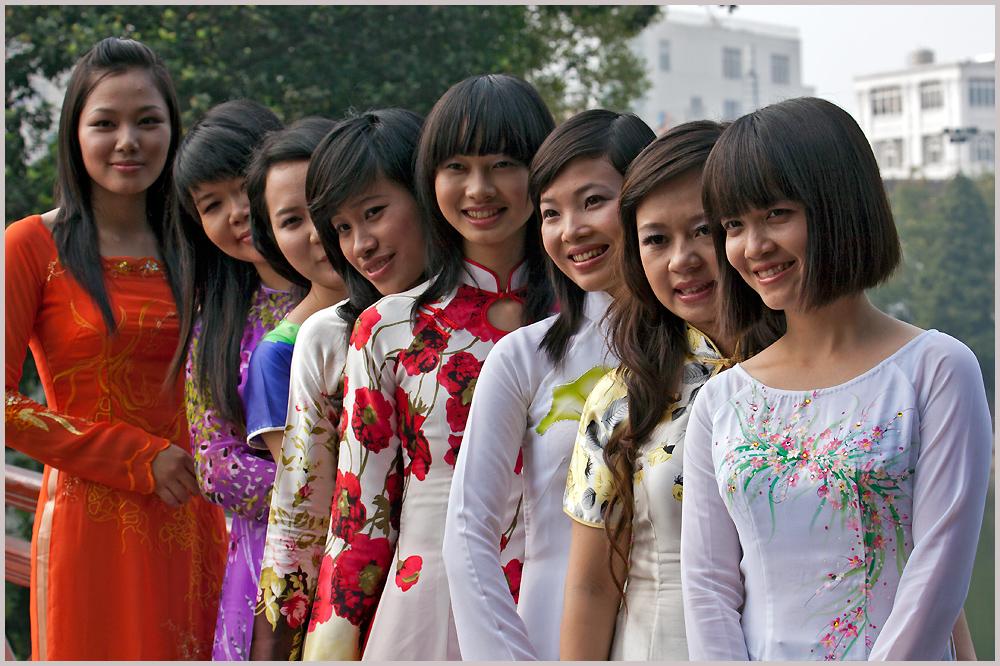 Mädchen- City of Hanoi