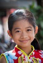 Mädchen in Dien Bien Phu