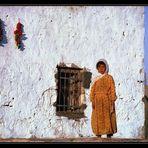 Mädchen in Harran, Türkei