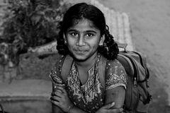 Mädchen in Indien
