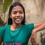 Mädchen in Kerala