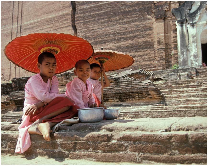 Mädchen in Mandalay II