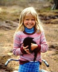 Mädchen in Norwegen