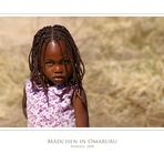 Mädchen in Omaruru