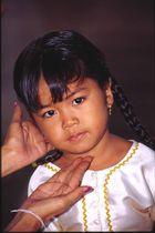 Mädchen in Phnomh Penh