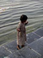 Mädchen in Udaipur
