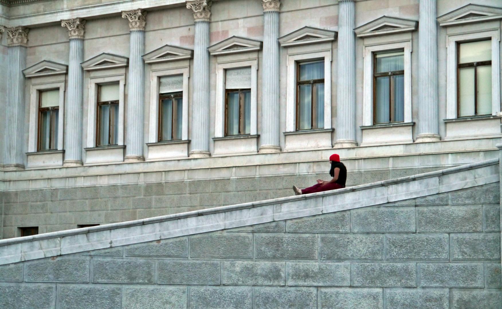 ...Mädchen mit roter Mütze....