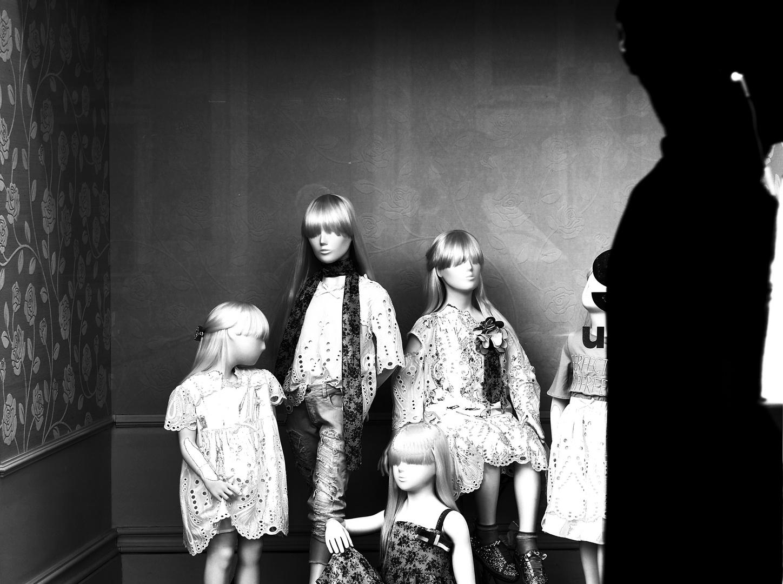 Mädchenzimmer Puppenstube Schattenmann