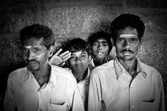 Männer in Indien