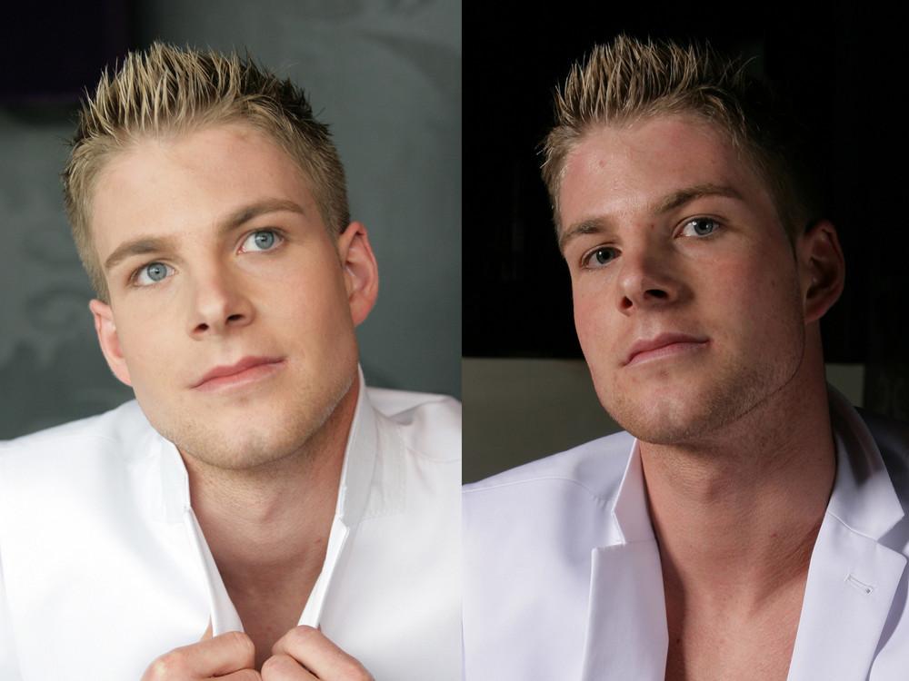 männer make up Foto & Bild | erwachsene, menschen Bilder