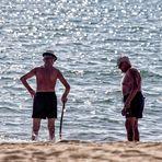 Männer und Meer