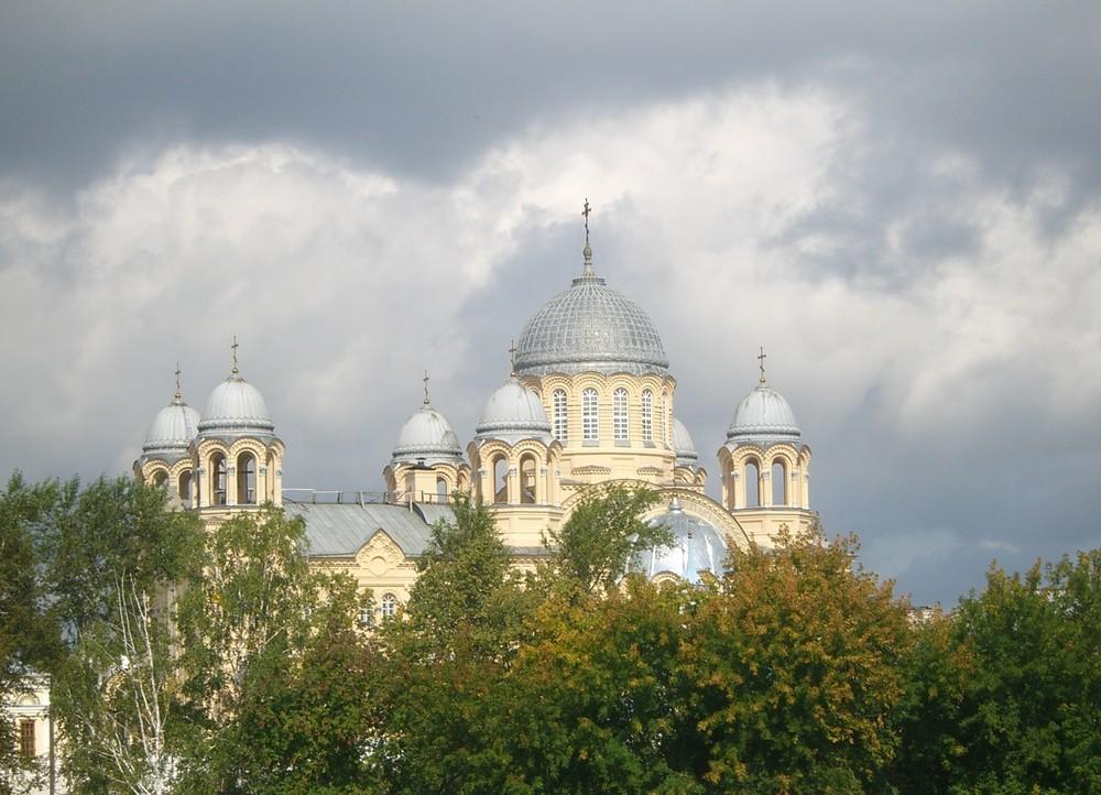 Männerkloster in Russland